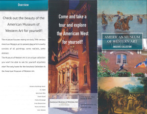 AMWA is a great place for a field trip! Find out why as you browse one student's carefully-designed brochure.